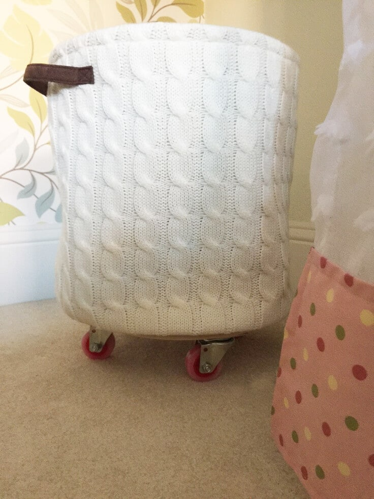 Rolling Laundry Hamper