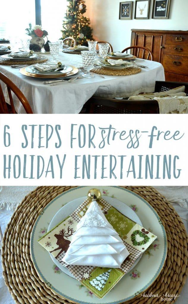 Stress-free Holiday Entertaining
