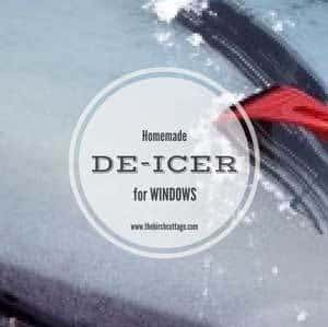 Make this Homemade De-Icer for Windows from The Birch Cottage