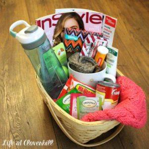 DIY Get Well Soon Gift Basket
