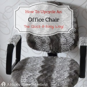 DIY Office Chair Makeover - learn how to revamp your old office chair the quick and easy way!