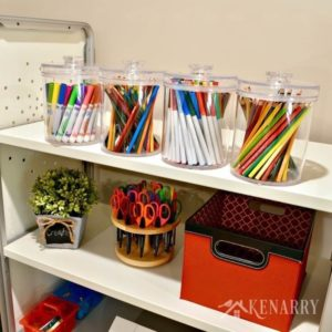 Is your craft room out of control? These easy and creative ideas for craft room organization will help you tackle the chaos this weekend!