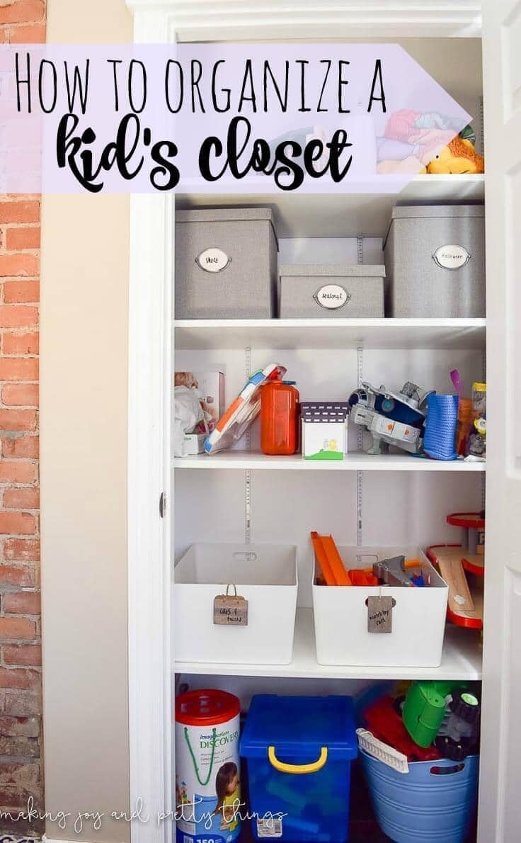 How To Organize Your Kid 39 S Closet