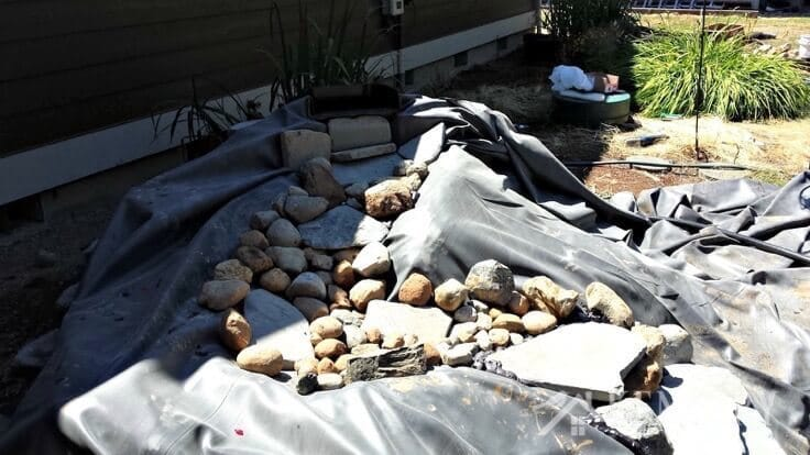 Get inspired to make a DIY pond with ideas and tips for a waterfall. This tutorial will help you create a private oasis in your own backyard.