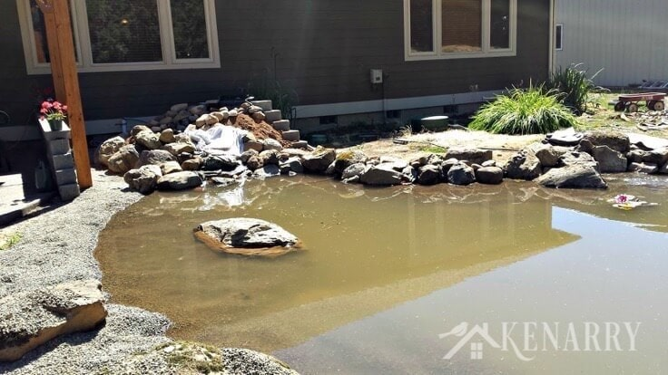 A DIY pond would make any backyard into a relaxing oasis! I especially love the space saving tips and tricks to create a waterfall or water feature for semi-natural filtration.