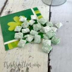Leprechaun Chow St. Patrick's Day Green Treat Recipe, TrishSutton.com