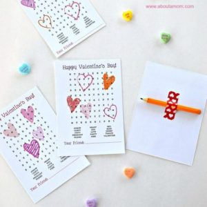 Free Printable Valentines: 12 Cards You Can Print Now