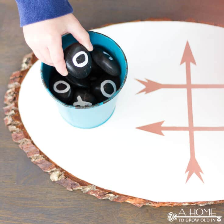How to Make an Outdoor Tic Tac Toe Game Board
