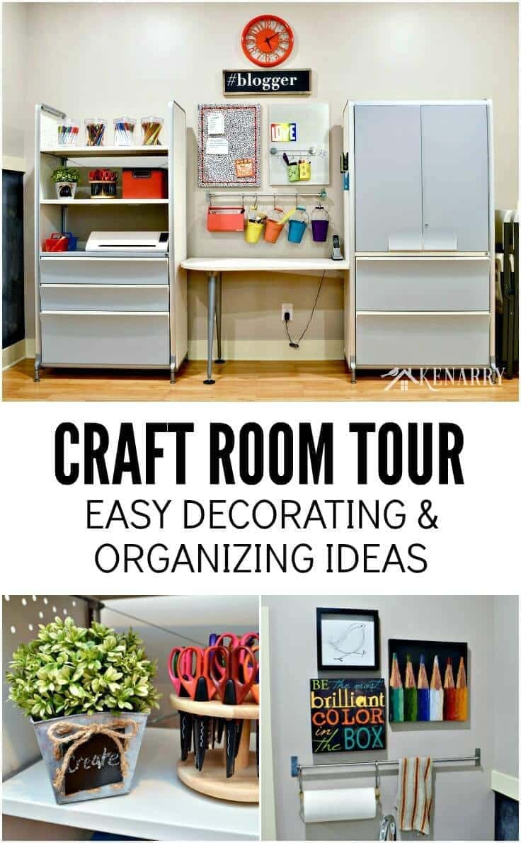 Craft Room Tour Decorating And Organizing Ideas