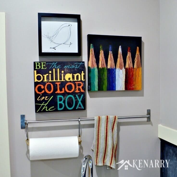 Love This Craft Room Tour So Many Colorful Decorating Ideas And Easy Organizing That
