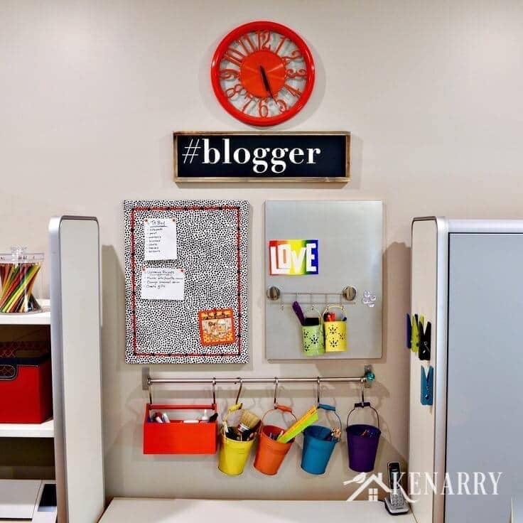 Home Office Craft Room Ideas: Craft Room Tour: Decorating And Organizing Ideas