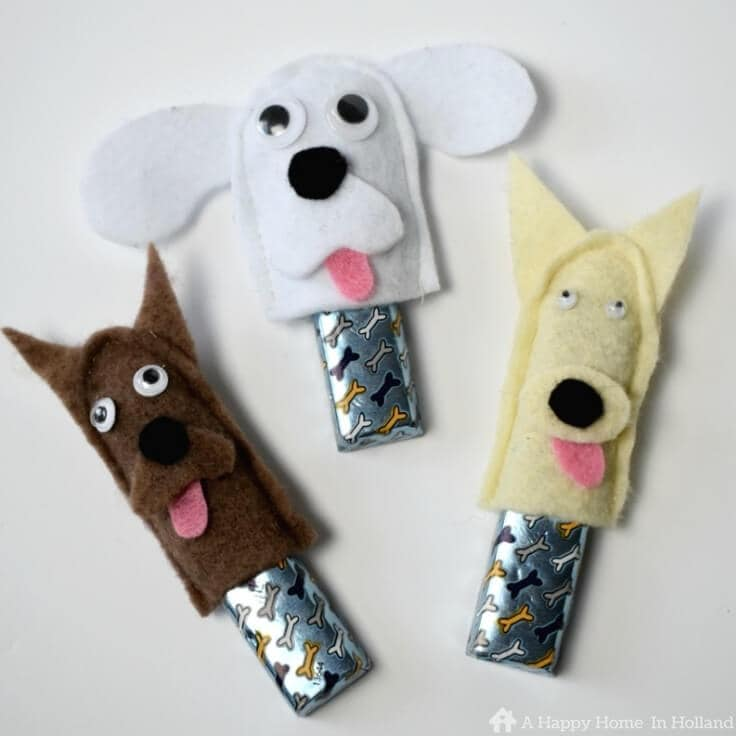 Easy craft idea to make with the kids or to use as do themed party favors