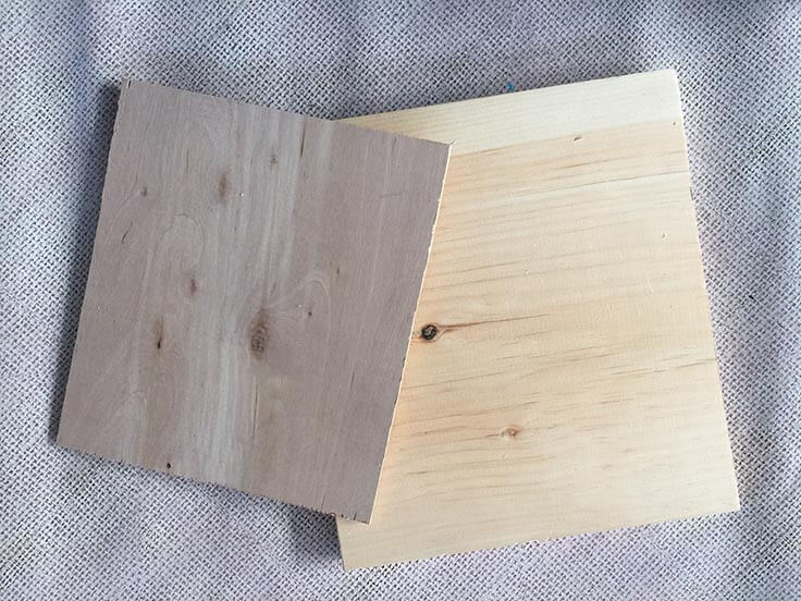 wood for DIY wood clip frames