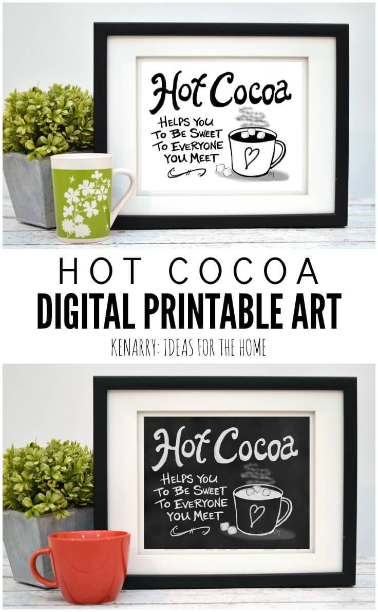 ... Near This Digital Printable Coffee Wall Art Would Look So Cute Hung As  Kitchen Prints, ...