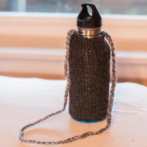 Simple, personalized, and easy to carry waterbottle for the school day.