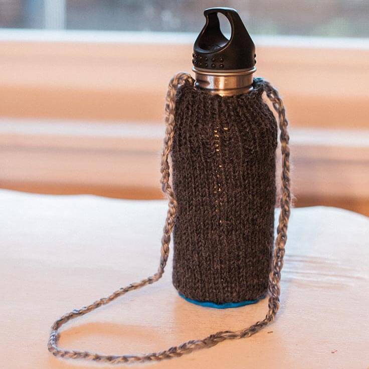 Simple, Personalized Water Bottle Cover
