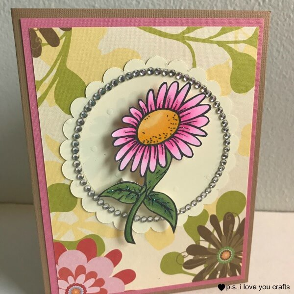 An All-Occasion Daisy Card handmade