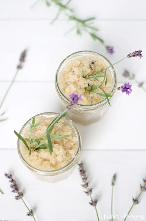 Lavender Scrub by Pastels and Macarons
