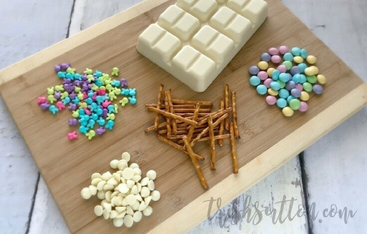 Spring Treat: Easter Pretzel Bark Recipe by Trish Sutton