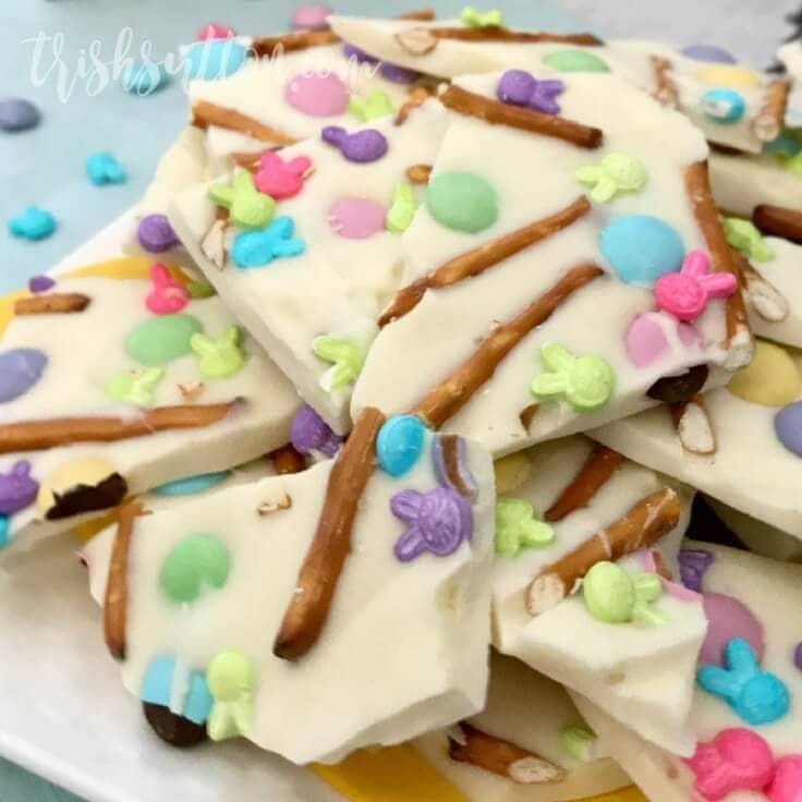 Spring Treat: Easter Pretzel Bark Recipe