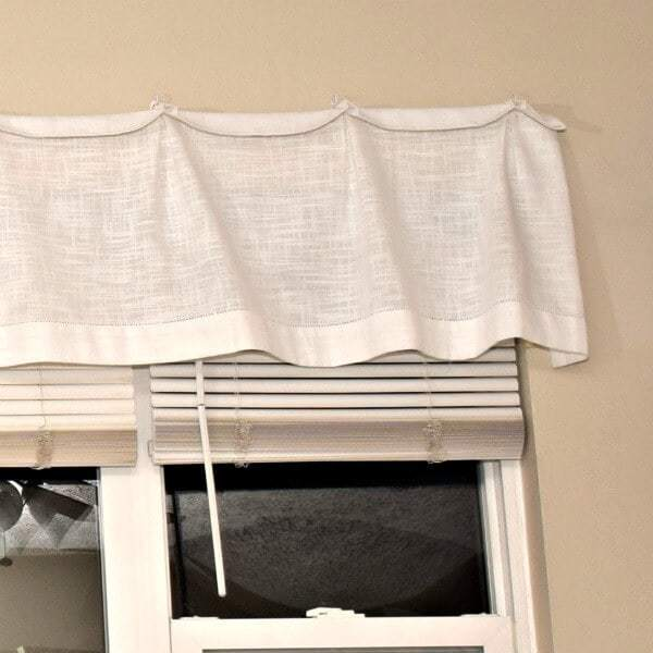 DIY Valance for Picture Windows