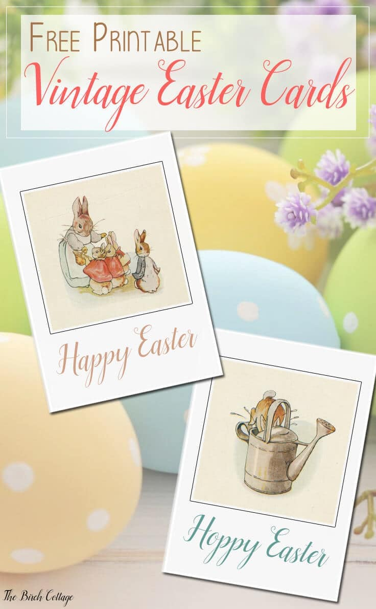 picture regarding Easter Cards Printable named Obtain Your Totally free Printable Basic Easter Playing cards