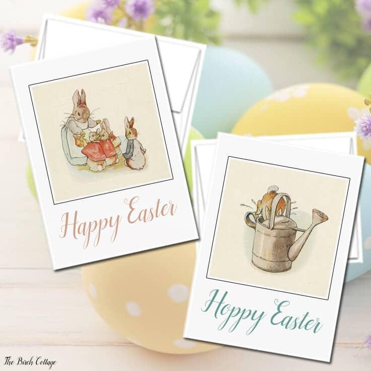 Free Printable Vintage Easter Cards