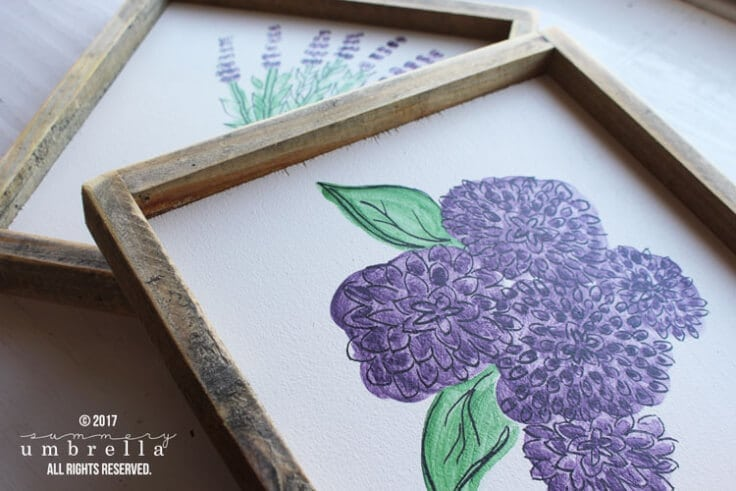 Spring is in the air, and it's time to decorate your home! Learn how to create a DIY Spring Flowers Wood Sign to get started with the season.