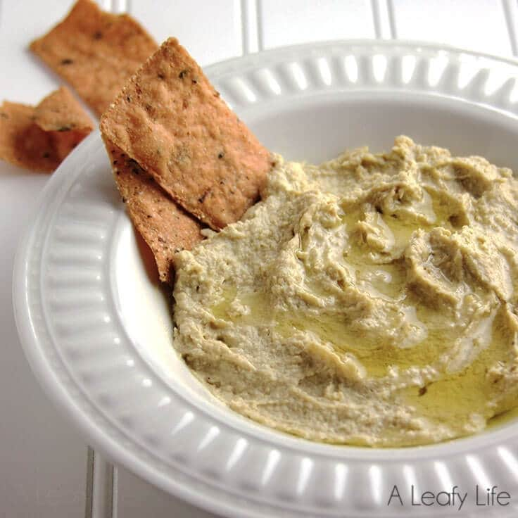 Lemon and Garlic Hummus