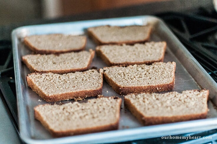 A quick and simple breakfast idea. Old fashioned cinnamon toast is perfect for those days when you don't even have time to sit down and eat a bowl of cereal. It's also easy to take on the go when you have an especially busy day!