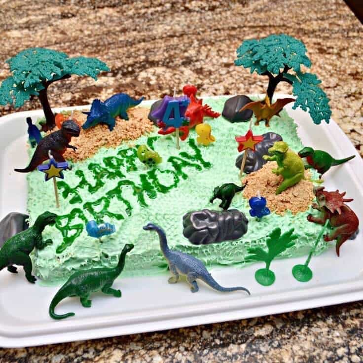 Sensational Dinosaur Birthday Cake And Amazingly Easy Party Ideas Funny Birthday Cards Online Elaedamsfinfo