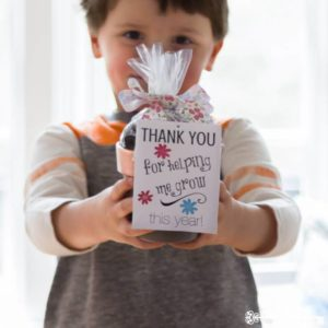 DIY Teacher Appreciation Gifts for End of School Year