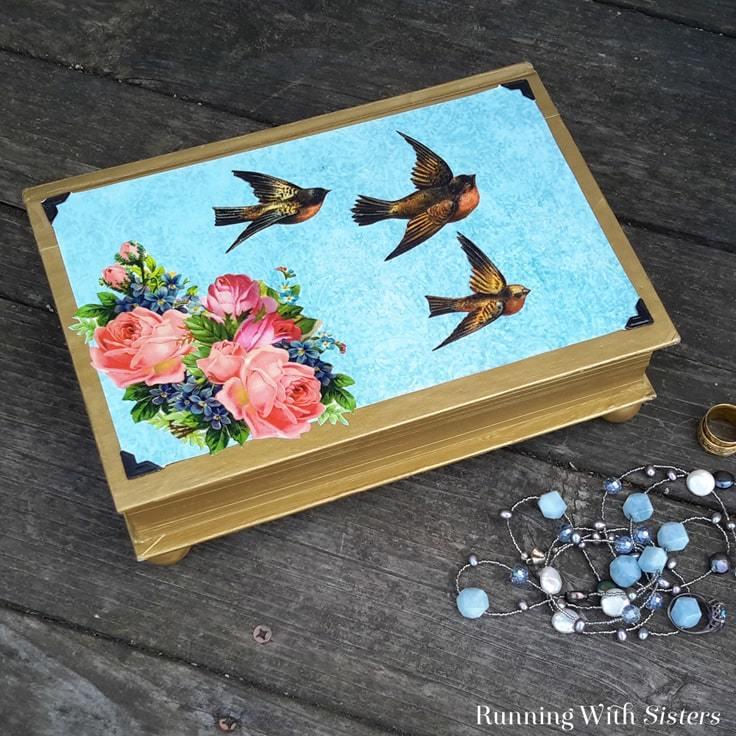 Diy Jewelry Box Turn A Vintage Book Into A Jewelry Box