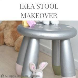 Ikea Mammut Stool Makeover
