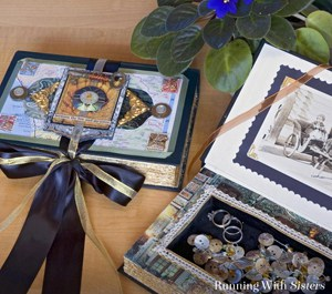 Upcycle a book into a keepsake box.