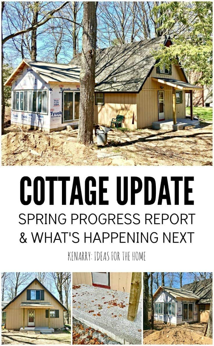 If you love great before/after photos and seeing home projects in progress, check out the update on our new sunroom and front porch additions on our A-frame cottage.