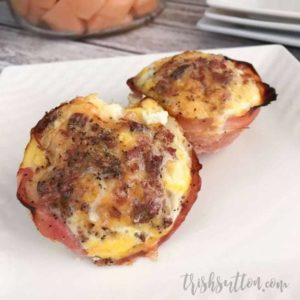 Ham, Egg, Cheese and Bacon Breakfast Muffins Recipe