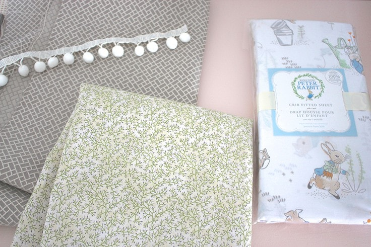 Supplies you need to make your own window valance