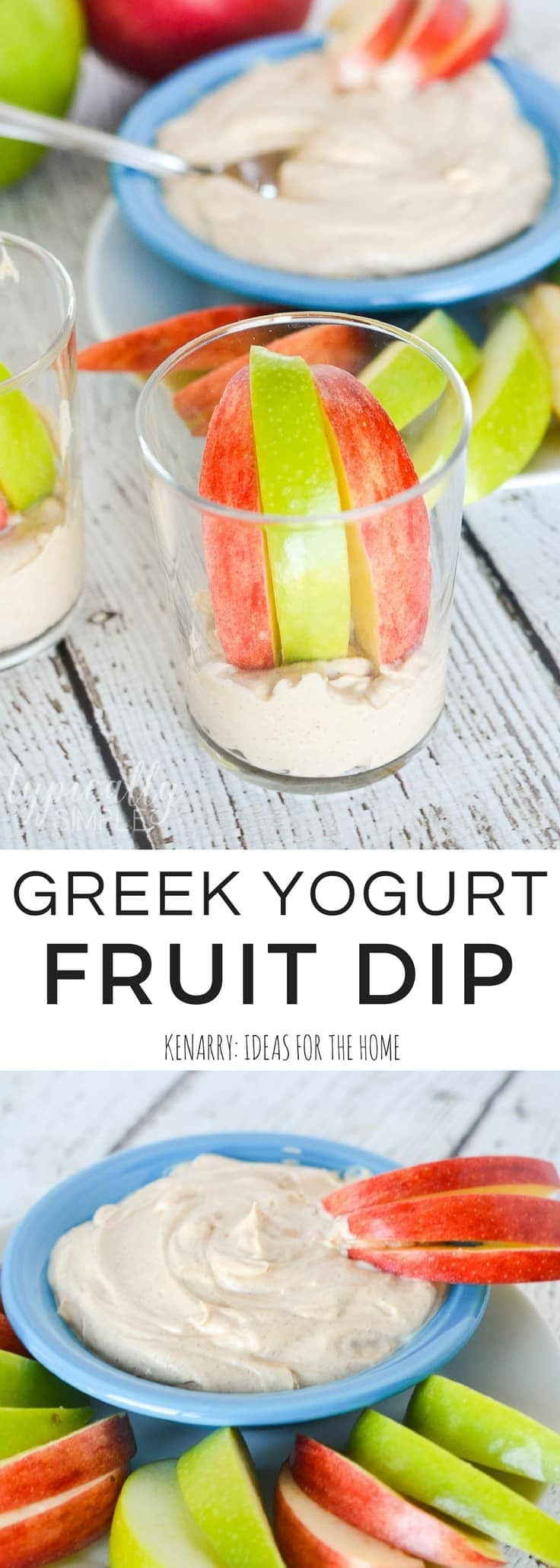 Greek Yogurt and Peanut Butter Fruit Dip Recipe for Summer
