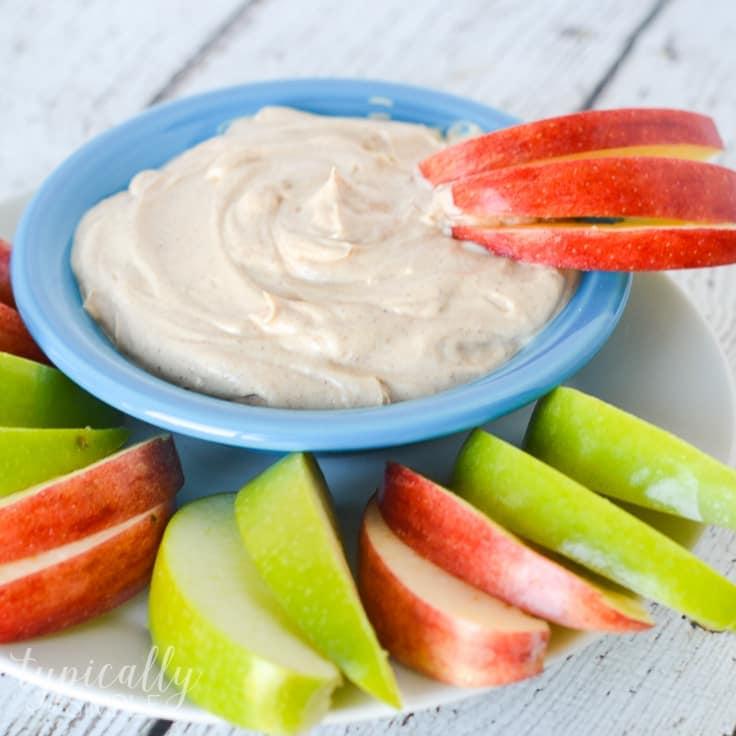 Greek Yogurt and Peanut Butter Fruit Dip Recipe