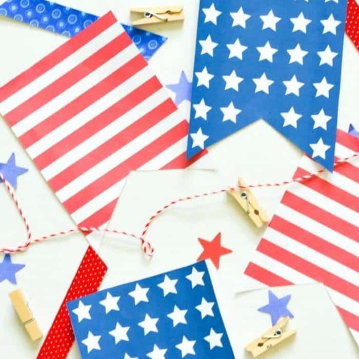Patriotic Decor Ideas: 12 Easy Crafts and Free Printables
