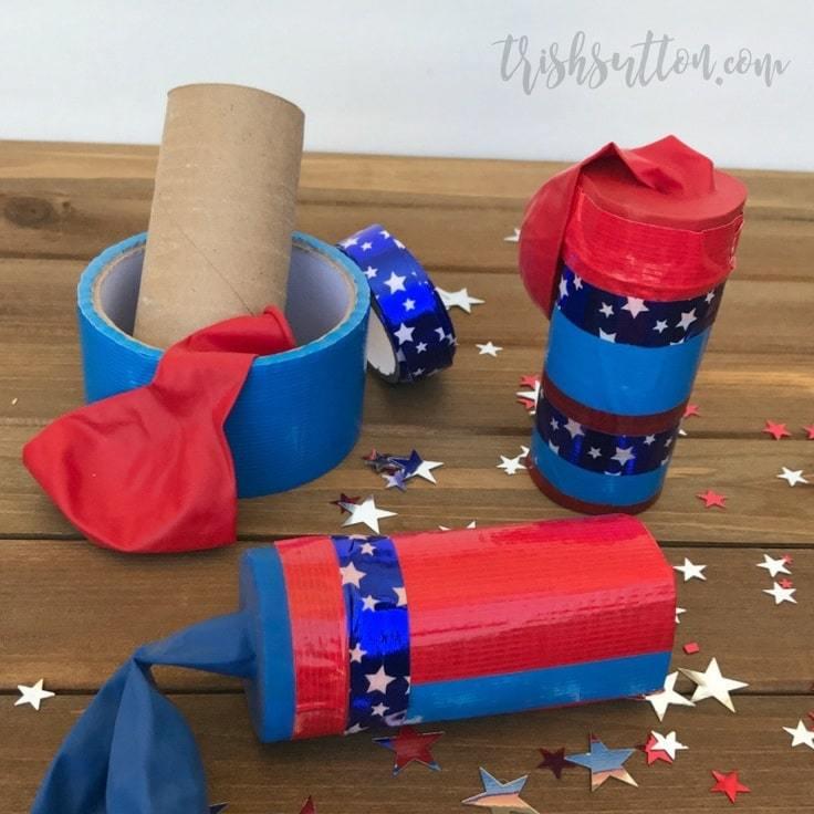 Dollar Store Kids Confetti Launcher