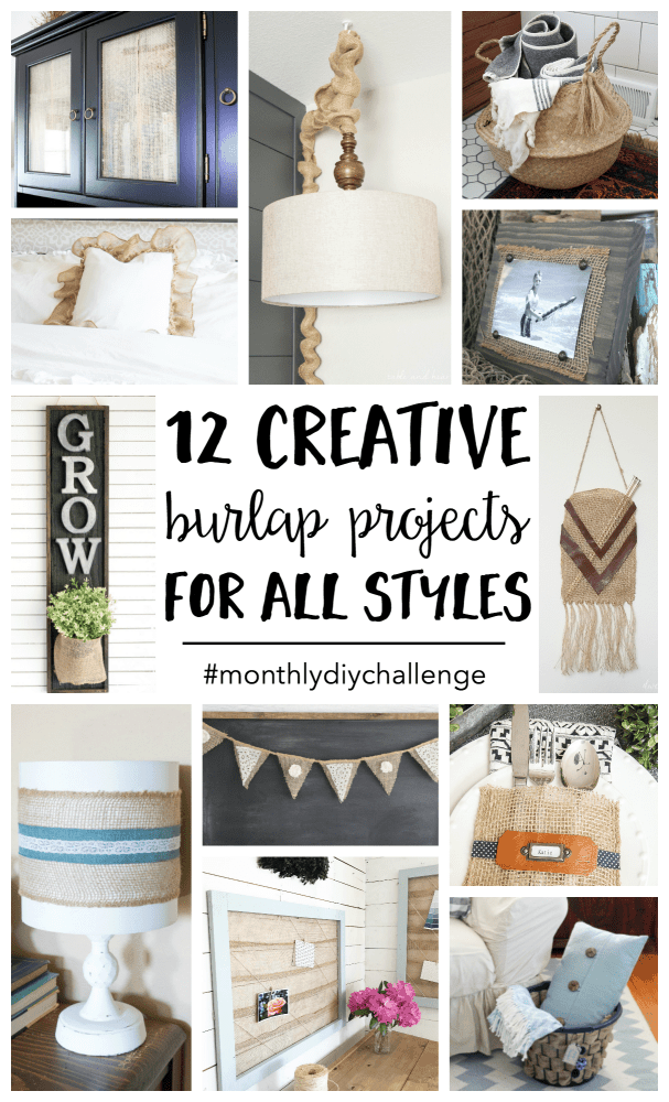 Burlap Craft Projects Are Easy To Make And Can Be Customized Fit Any Style Or