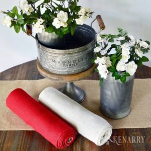 Enter to win the Farmhouse Favorites Giveaway from Kenarry. Prize includes our favorite decor from Magnolia Market plus the new Kenarry Burlap Table Runner Collection. Total value of the ultimate farmhouse favorites bundle is more than $200.