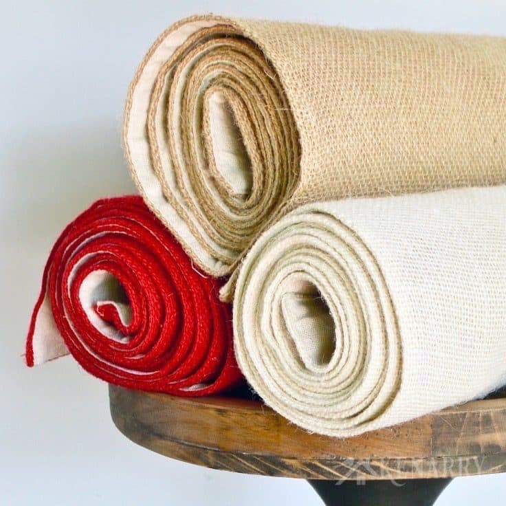 Kenarry Burlap Table Runners - Fabric Lined, Jute Decor in 3 Colors! Great for holiday decorating, entertaining and every day use in a dining room or home.