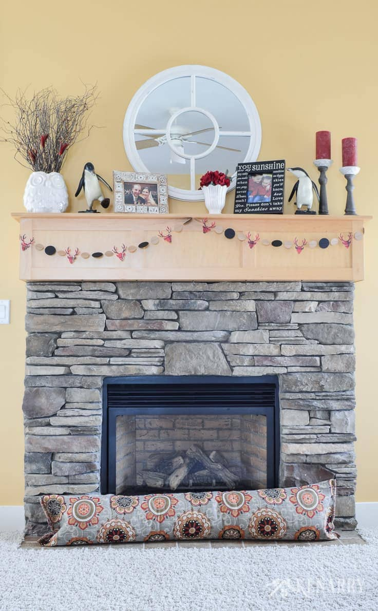Fireplace Draft Stopper An Easy Diy Sewing Tutorial