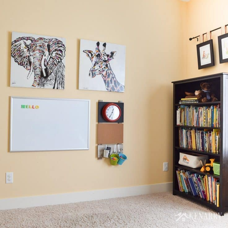 Wall Decor Ideas For Large Walls: Playroom Wall Decor: Make A Gallery Wall For Kids