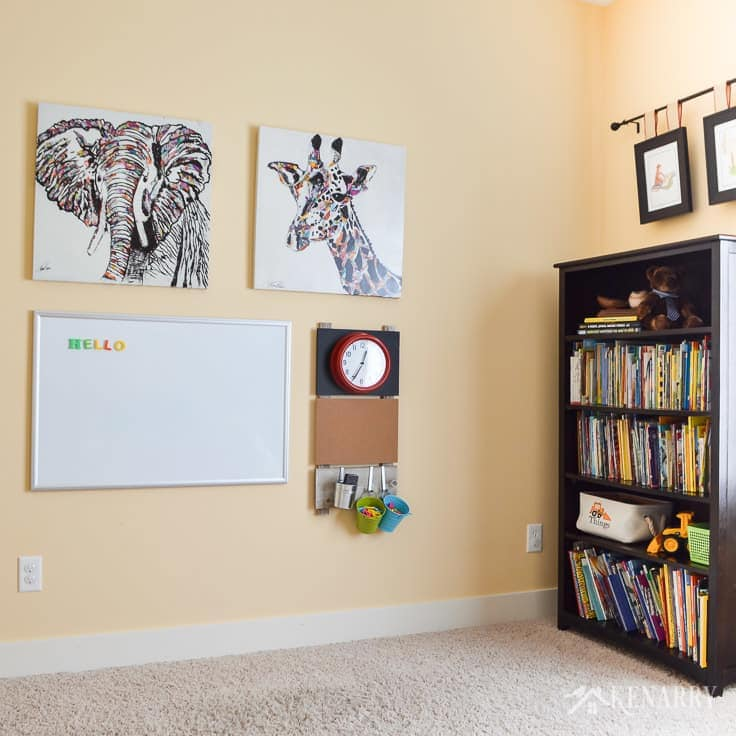 Playroom Wall Decor: Make a Gallery Wall for Kids