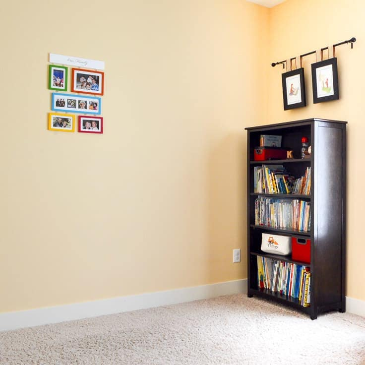 Before We Created A Gallery Wall In The Kidu0027s Room, The Only Playroom Wall  Decor