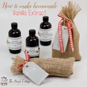 Learn how easy it is to make homemade vanilla extract with this tutorial from The Birch Cottage.